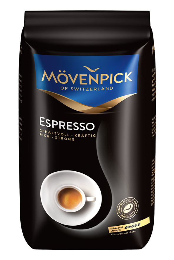 MÖVENPICK of Switzerland Espresso 500g zrno