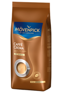 MÖVENPICK of Switzerland Café Crema zrno 1000g